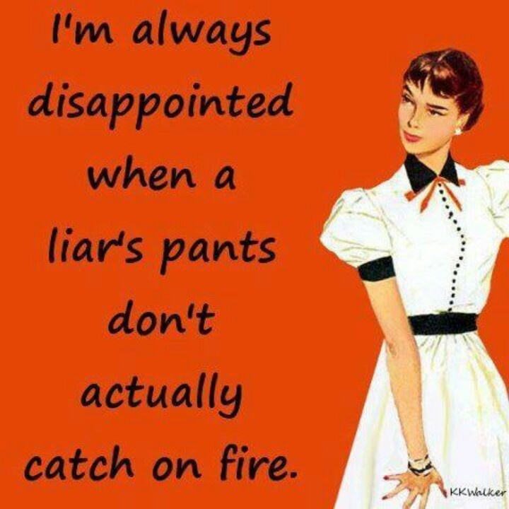 Image result for images laughing at liars